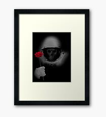 Dead Head In Space Framed Print