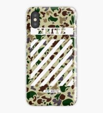 Off White Bape Camo iPhone Case/Skin