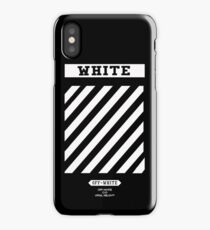 Off White Black iPhone Case/Skin