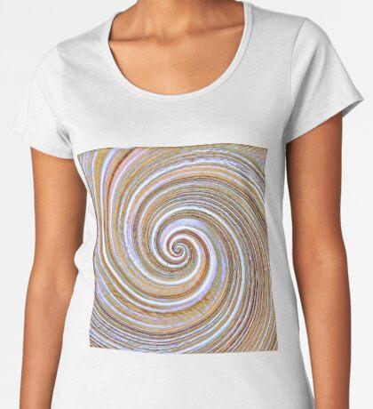 A close up of a cake on Fibonacci table Premium Scoop T-Shirt
