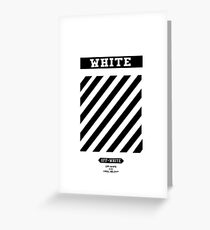 Off White IPHONE CASE Greeting Card