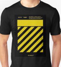 Off White Yellow Unisex T-Shirt