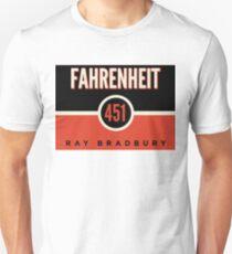 Fahrenheit 451 Unisex T-Shirt