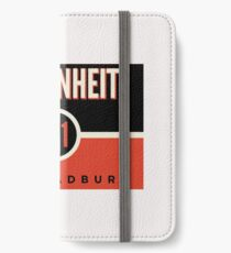 Fahrenheit 451 iPhone Wallet/Case/Skin