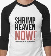 Shrimp Heaven NOW! Men's Baseball ¾ T-Shirt