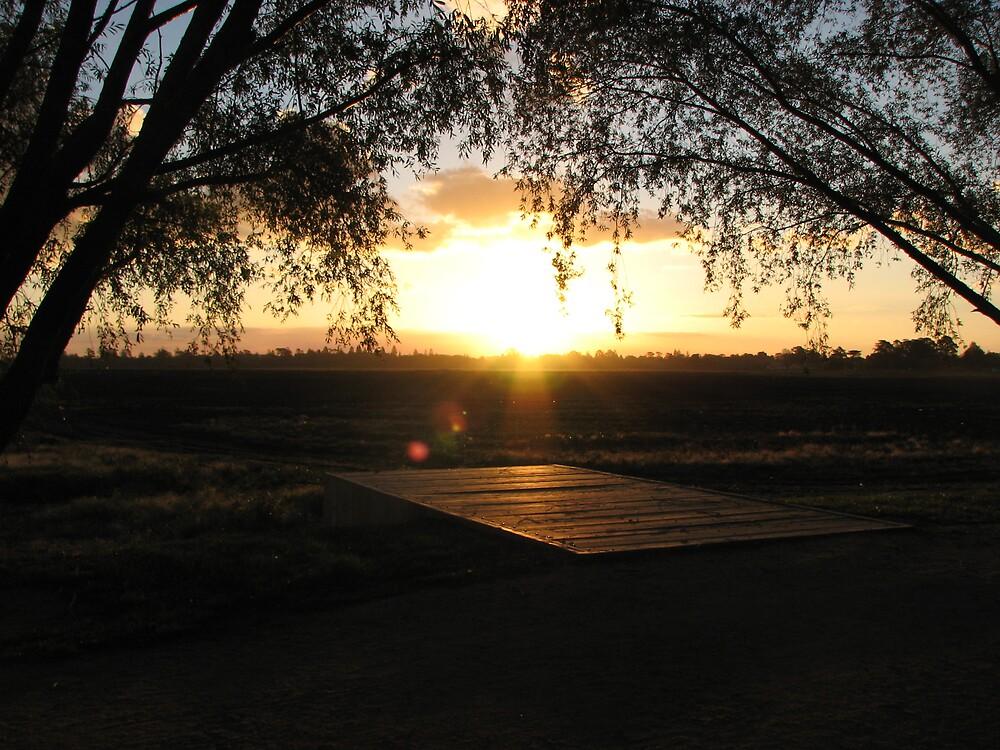 Lake Wendouree, Ballarat, sunset by nokko