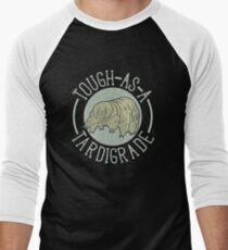 Funny Science Shirt Gift- Tardigrade Biology for Women Men Men's Baseball ¾ T-Shirt