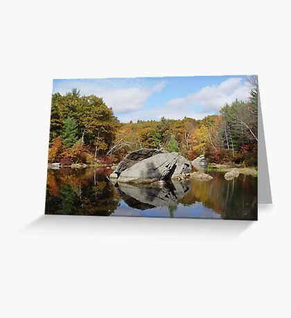 Rock House Reservation Greeting Card