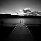 Jetty at Lake Annecy.....France by Imi Koetz