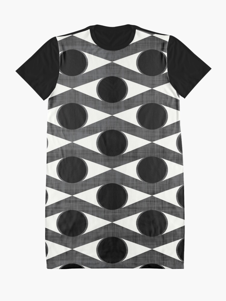 Alternate view of MCM Eye Am Watching You Graphic T-Shirt Dress