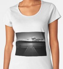 Jetty at Lake Annecy.....France Women's Premium T-Shirt