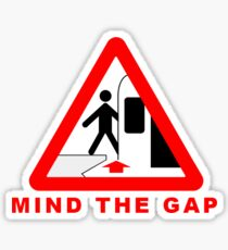 TTC - Mind The Gap sign Sticker