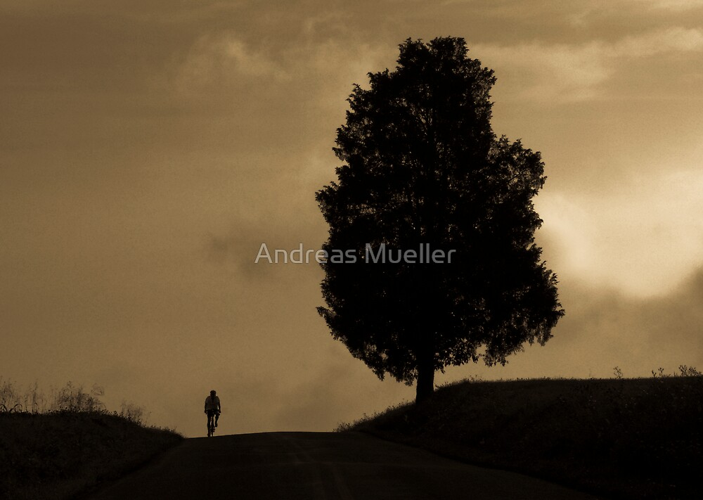 Passing by a Giant by Andreas Mueller