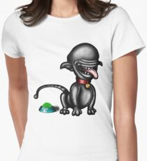 #AlienDog# Women's Fitted T-Shirt