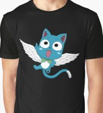 Fairy Tail Happy Graphic T-Shirt