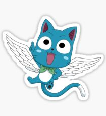 Fairy Tail Happy Sticker