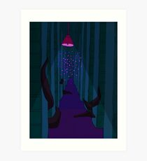 night vale public library Art Print