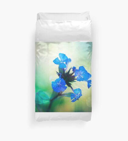 Tangled up in Blue Duvet Cover