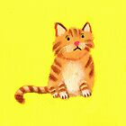 Ginger Cat by Tiphanie Beeke