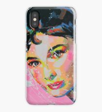 Audrey Hepburn Artpainting iPhone Case/Skin