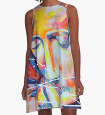 La Pieta inspirée de Michel-Ange Artpainting A-Line Dress