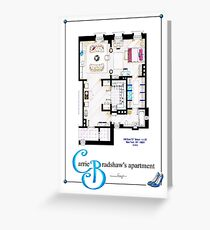 Carrie Bradshaws apartment as a Poster (Movie version) Greeting Card