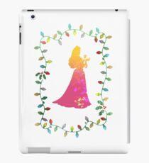 Christmas Princess Inspired Silhouette iPad Case/Skin