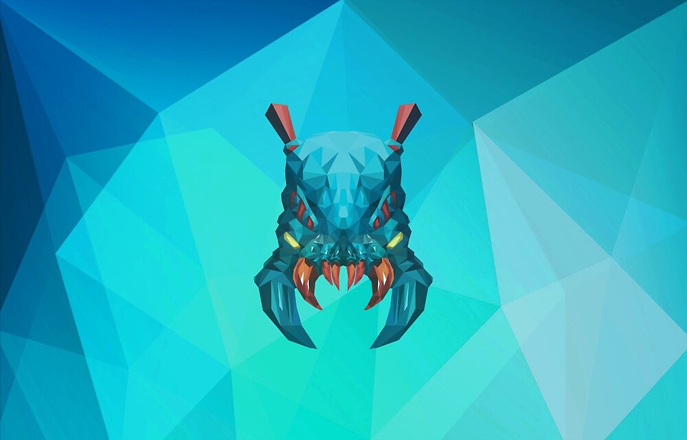 Weaver Low Poly Art by giftmones