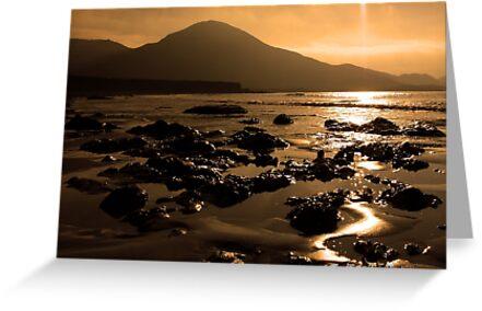 Lohar Beach Co Kerry Ireland by aidan  moran
