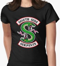 southside serpents riverdale Women's Fitted T-Shirt