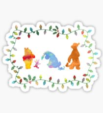 Christmas Friends Inspired Silhouette Sticker
