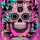 SKULL MULTICOLOR by fuxart