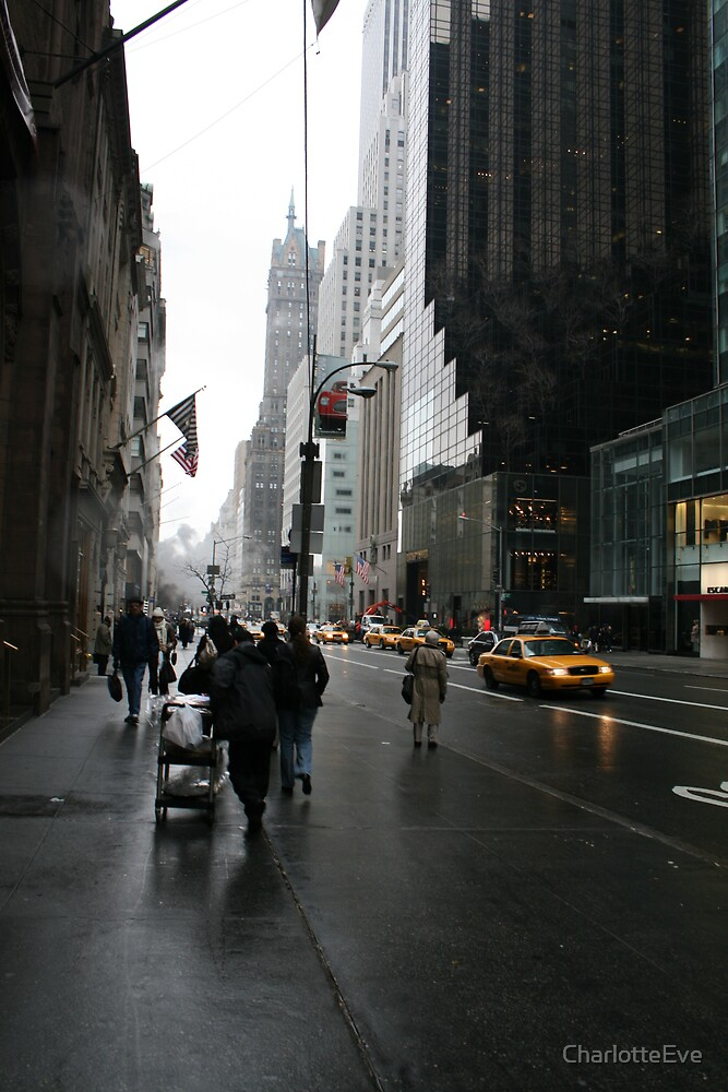 New York After The Rain by CharlotteEve