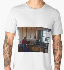 Making A Sandwich Men's Premium T-Shirt