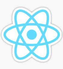 React js Stickers, Mugs, t-shirts and much more Sticker