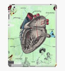 Parts of the heart iPad Case/Skin