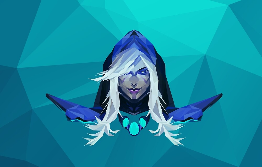 Drow Ranger Low Poly Art by giftmones