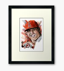 Michael Nelson Trout Framed Print