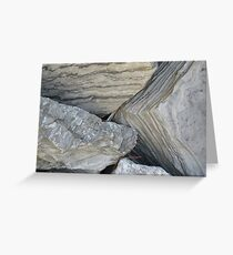 Boulders  Greeting Card