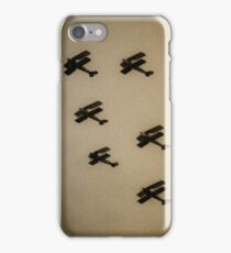 WW1 fighter squadron biplanes iPhone Case/Skin
