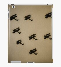 WW1 fighter squadron biplanes iPad Case/Skin