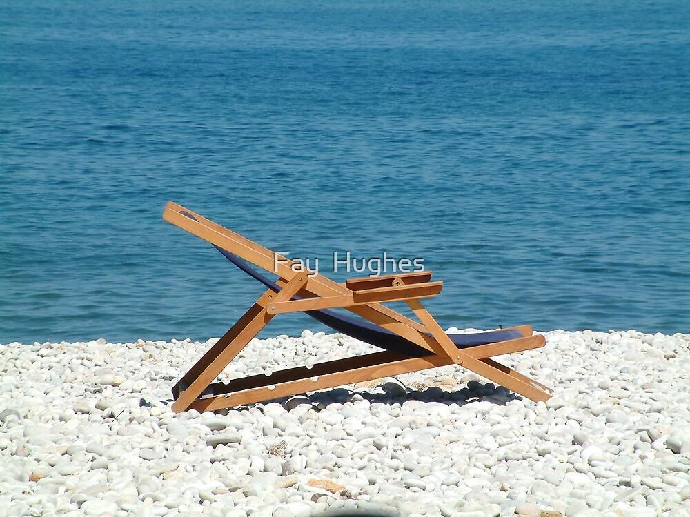 Deckchair by Fay  Hughes