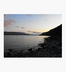 Sunset over Loch Ness Photographic Print
