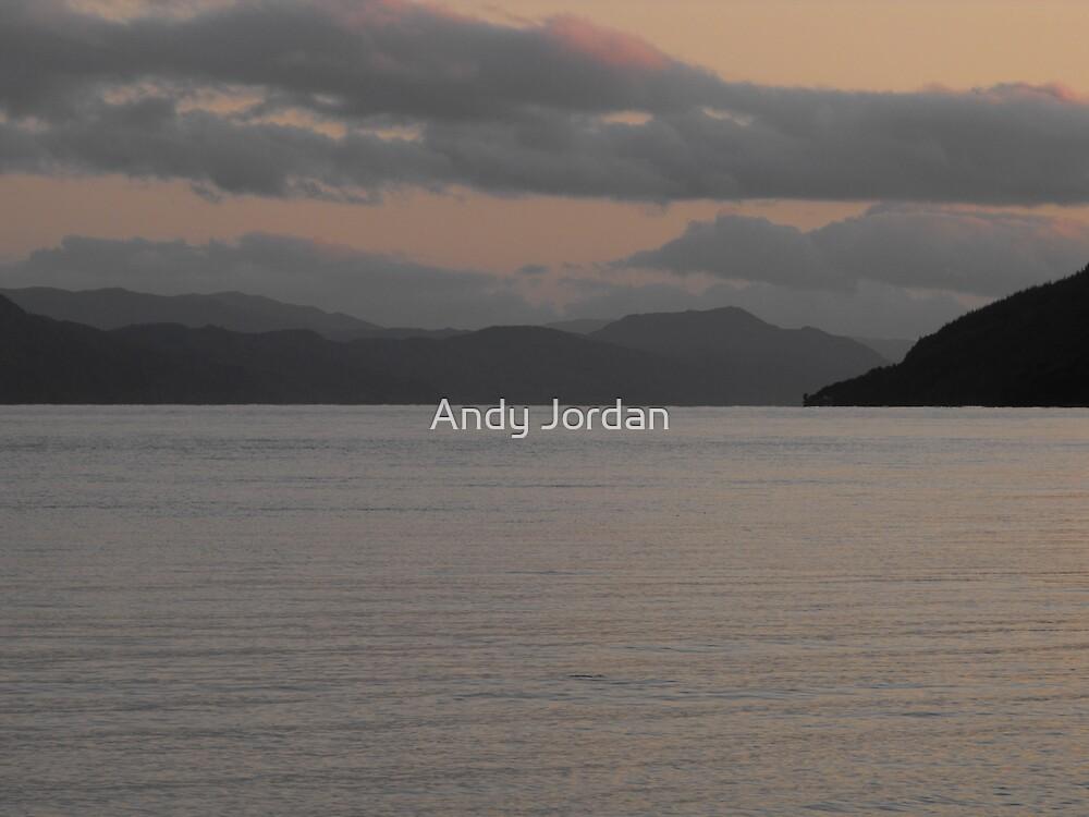 Loch Ness sunset by Andy Jordan