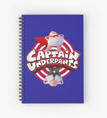 Captain Underpants Dual Identity Spiral Notebook