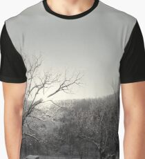 Snow Scene Graphic T-Shirt