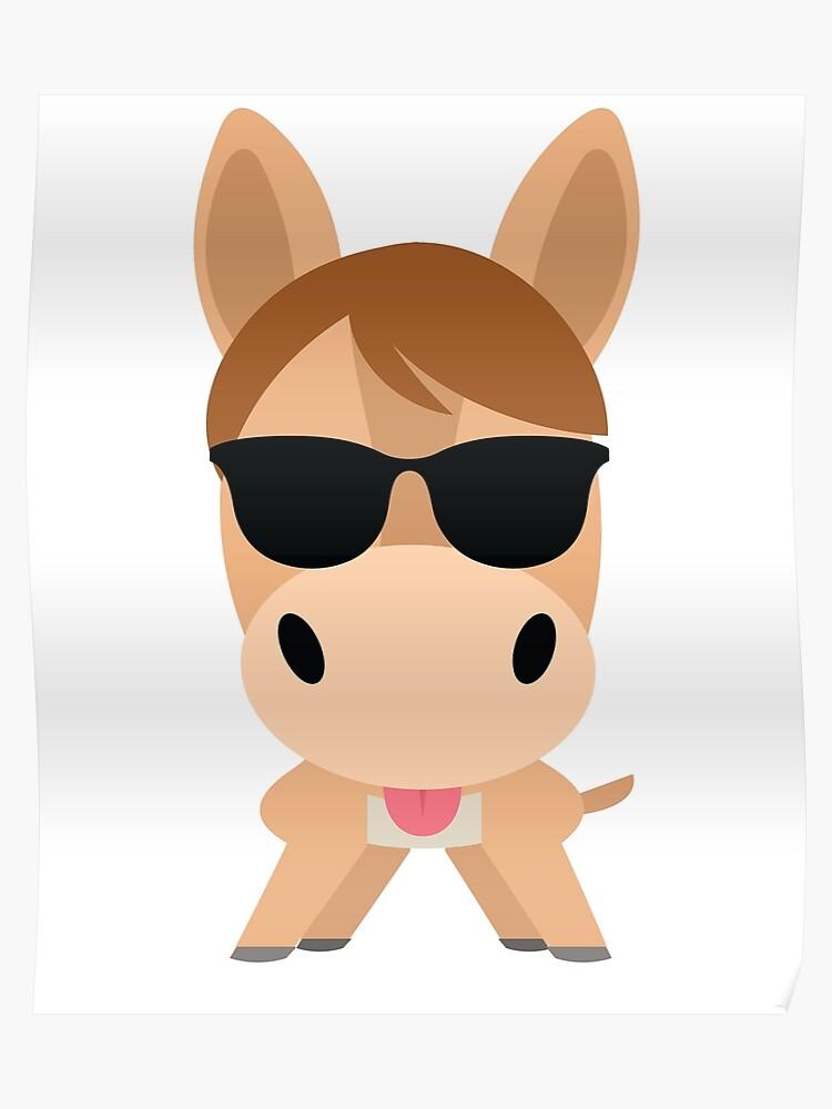 Donkey Emoji | Poster