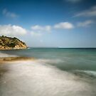 Charlestown beach Cornwall by eddiej