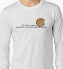 Bojack horseman muffin quote fan art Long Sleeve T-Shirt