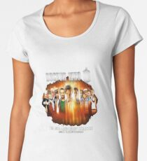 Dr Who 50th Anniversary Women's Premium T-Shirt